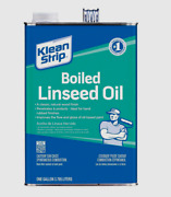 New Klean Strip Boiled Linseed Oil Transparent Natural Wood Finish 1 Gal. Glo45