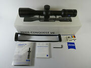 Zeiss Conquest V6 3-18x50 Sfp Zbr-2 Rifle Scope 30mm 522241-9992-070