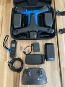 Skydio 2 Drone With Extra Batteries Beacon Remote Controller Dual Charger
