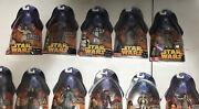 Hasbro Star Wars Revenge Of The Sith Action Figures 25 Total 3 Doubles New 2005