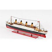 Titanic Painted Scale Ship Model Small
