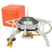 3500w Foldable Windproof Camping Gas Stove Outdoor Gas Split Cooking R A4s2