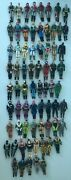 Gi Joe Vintage 70 Action Figures Lot Arah - With Backpacks And Weapons