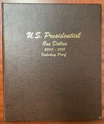 Us Presidential One Dollar Set 2007 To 2011 Including Proofs Uncirculated