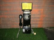 Vintage 1950-60and039s Northern Electric Rotary Pay Phone Telephone From Canada