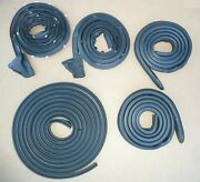 1971-74 Charger Satellite Door Roof Trunk Lid Weatherstrip Rubber Seal Kit Usa