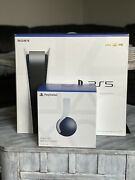 Sony Ps5 Blu-ray Edition Console With Sony Pulse 3d Wireless Headset