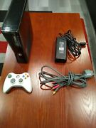 Rgh Trinity Xbox 360 Slim W/ 250gb Hdd Power Brick Componen Cable And Controller