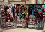 Monster High Doll Lot Of 2 Jane Boolittle And Draculaura New