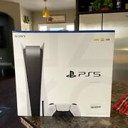 Sony Playstation 5 Console Disc Version - Ps5 - Brand New - Free Shipping