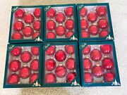 Lot Of 6 Boxes Vintage Christmas Ornaments Christmas By Krebs