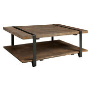 Alaterre Amsa1220 Modesto 48inl Reclaimed Wood Coffee Table Rustic Natural