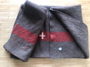Wwii Swiss Army Wool Blanket Made In 1939