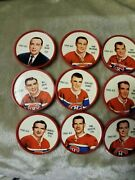 1961-62 Montreal Canadiens Shirriff Salada Complete Coin Set 101- 120