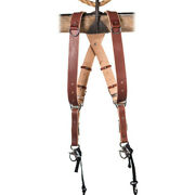 Holdfast Gear Money Maker Two-camera Harness English Bridle Chestnut Small