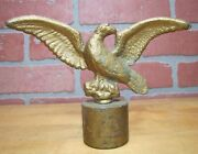 Eagle Old Finial Make Do Paperweight Figural Bird Hardware Element Decorative