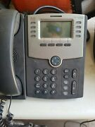 Cisco Spa508g 8-line Ip Phone With 2-port Switch, Poe, And Lcd Display Silver