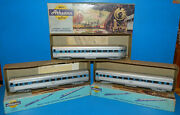 Lot Of 3 Ho Athearn Baltimore And Ohio Passenger Cars - Exc. Condition - See Pics