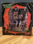 Lemax Spooky Town 2019 The Haunted Knoll Porcelain Lighted House