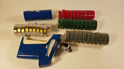 Vintage Dymo Lable Makers 1895 With 50 Replacement Tape Rolls Including Gold