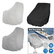 Captainandrsquos Boat Seat Cover Yacht Waterproof Bench Chair Cover Furniture