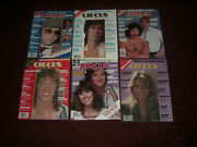 6 Circus Music Magazines From The 1970and039s Wholesale Lot 4