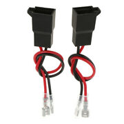 2pcs Pre-wired Car Speaker Connector Wire Adapters
