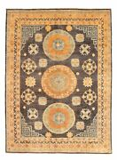 Hand-knotted Carpet 8and03911 X 12and0392 Traditional Oriental Wool Area Rug