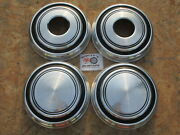 1970and039s-80s Dodge 3/4 Ton Pickup Truck Van 4x4 Poverty Dog Dish Hubcaps Set Of 4