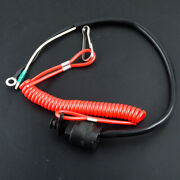 Universal Boat Kill Switch Safety Tether Lanyard Fit For Marine Mercury Outboard