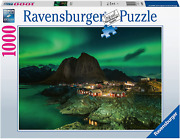 Ravensburger Northern Lights Over Hamnoy Norway 1000 Piece Jigsaw Puzzles