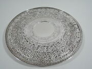 Gorham Cake Plate - A9224 - Antique Platter Tray - American Sterling Silver