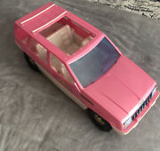 Vintage Tim Mee Toys Jeep Grand Cherokee Toy Car 1994 Huge Fits Barbie Made Usa