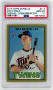 Max Kepler 2016 Topps Heritage Chrome Twins Gold Refractor Rc 3/5 Psa 10