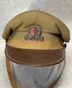 Israeli Infantry Division Idf Officerandrsquos Hat Israel Military Hat Late 1940andrsquos-50