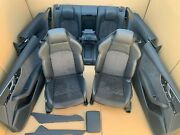 Audi Rs5 8w 5f A5 S5 B9 Coupe Leather Trim Leather Seats S-line Massage Alcant