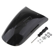 Carbon Fiber Extender Front Shield Mud Guard For Motorcycle Type 3
