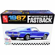 Skill 2 Model Kit 1967 Mustang Gt Fastback 1/25 Scale Model By Amt