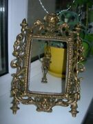 Beautiful Antique Frame Paths For A Mirror Photo Bronze France Old Handcrafted