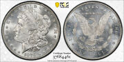 1879 S 1 Reverse Of 1878 Morgan Dollar Pcgs Ms 63+ Cac Approved Nice