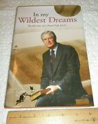 Life Story Of J Floyd Hall In My Wildest Dreams Professional Baseball Signed