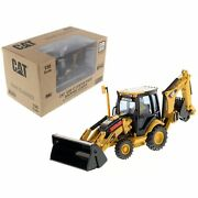 Cat Caterpillar 420e Center Pivot Backhoe Loader With Working Tools With Oper...