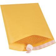 9.5 X 14.5 Inch Kraft Bubble Mailers 4 Padded Envelopes Self Seal, 250 Pack