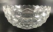 Flared Cupped Bowl American Clear Stem 2056 By Fostoria Rare