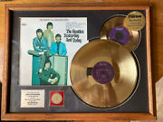 The Beatles Yesterday And Today Framed Gold Lp And Gold 45 Limited Edition 49