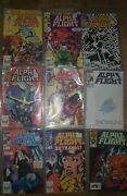 Marvel 1983 Xmen Alpha Flight Lot 1-42, Annual And Limited 2 Edition Series