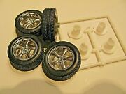 Lot 22 Set Of Used Rims And Tires 1/25 1/24