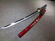 Japanese Samurai Sword Razor Sharp T10 Clay Tempered Steel Hand Forged Boutique