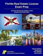 Florida Real Estate License Exam Prep All-in-one Review And Testing To Pass…