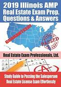 2019 Illinois Amp Real Estate Exam Prep Questions And Answers Study Guide To…